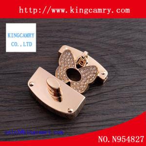 Fashion Metal Locks Round/ Handbag Rhinestone Turn Locks/ Diamond Lock pictures & photos