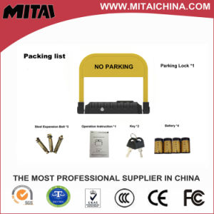 Hot Sale Security Smart Parking Lock Used for Protecting Parking Space pictures & photos