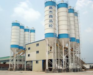 120m3/H Stationery Concrete Mixing Plant pictures & photos