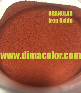 for Paper Bead Granular Iron Oxide Red G130 pictures & photos