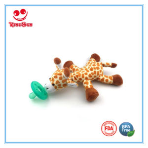 Plush Animal Funny Pacifiers for Teething Babies pictures & photos