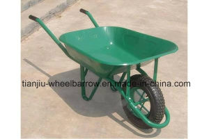 65L France Model Wheelbarrow Wheel Barrow Wb6400 for Angola Market pictures & photos