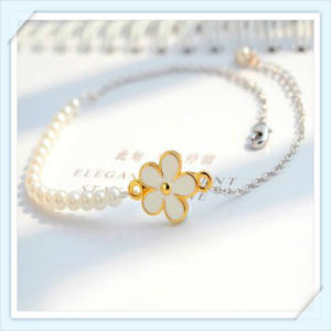 New Design Pearl Flower Epoxy Point Fashion Jewellery Anklet pictures & photos