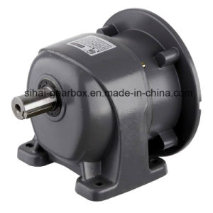 Single Unit of Foot-Mounted Helical Gear Motor pictures & photos