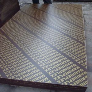 4X8 Feet Brown /Blackfilm Faced Plywood Using in Construction pictures & photos