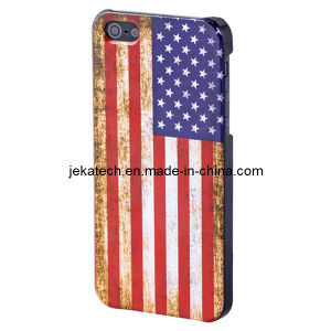 Retro USA Flag Hard Case for iPhone 5s (JK-IPH5-A-28) pictures & photos