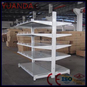 Spanish Supermarket Wire Mesh Metal Shelf Metal Layer Board pictures & photos