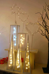 PVC Christmas Decoration Light with Warm LED pictures & photos