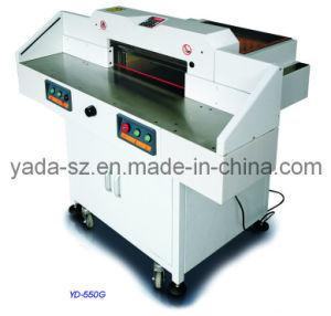 Program-Control Paper Guillotine YD-550G pictures & photos