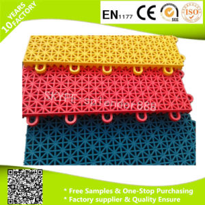 13mm Thickness PP Interlocking Plastic Garage Floor Tiles for Car Show pictures & photos