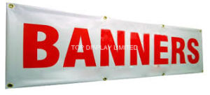Indoor Outdoor Polyester Mesh Fabric Printing Fence Poly Advertising Display Banner pictures & photos