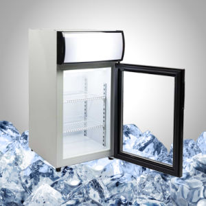 Display Countertop Freezer Glass Door pictures & photos