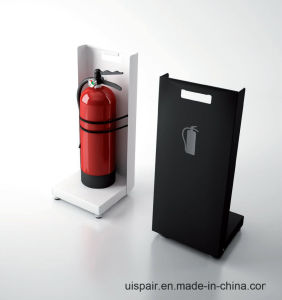 Uispair Movable Fire Extinguisher Stand Shop Office Hotel Home Furniture