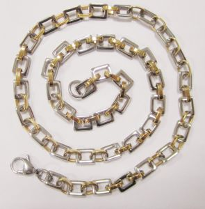Gold Plated Stainless Steel Chain for 2014 New Products pictures & photos