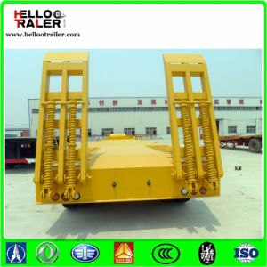 Heavy Equipment Transport Tri-Axle 60 Ton Excavator Trailer pictures & photos