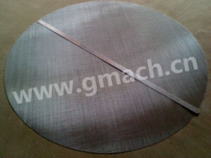 Big Size Stainless Steel Wire Mesh Disk pictures & photos