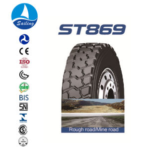 TBR Truck Bus Trailer Tire Tubeless Radial Tire pictures & photos