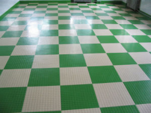 Anti-Abrasion Home Indoor Sports Gym Color Rubber Flooring pictures & photos