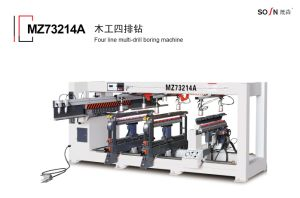 Four Lining Hole Multi-Axle Woodworking Driller (boring machine) Mz73214A pictures & photos