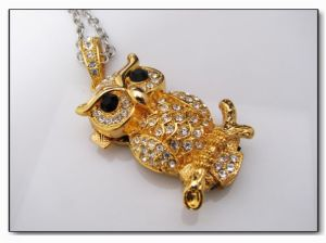 Jewelry Diamond Cylinder Locks USB Flash Drive (HN07) pictures & photos