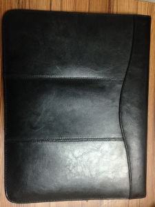 Offering Custom Designsleather Portfolio Note Book (D3) pictures & photos