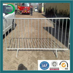 Temporary Crowd Control Barrier Fence with Galvanizing pictures & photos