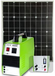100W Solar Home System (ODA100-33AH-AC) pictures & photos
