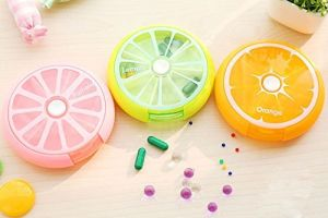 Portable Pill Medicine Case Storage Box Organizer pictures & photos