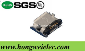 Female 5pin SMT B Type Micro USB Connector pictures & photos