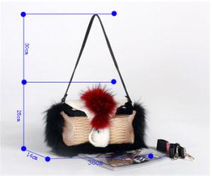 2015 High Quality Fox Fur Hand Bag pictures & photos