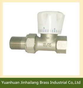 Hot Sale Brass Thermostatic Radiator Valve