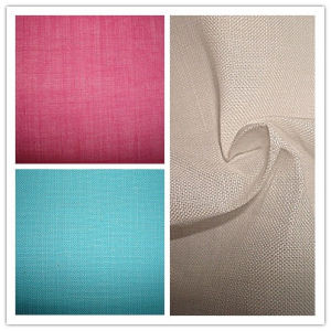 Dyed Ramie Plain Cloth Slub Fabric pictures & photos