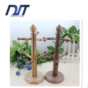 Wholesale Zakka Simple Tree Shaped Cup Holder Cup Storage Rack