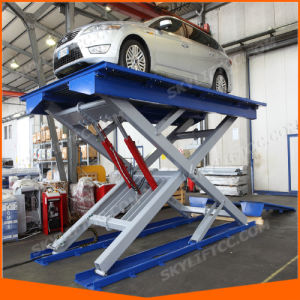 Ce Certification Hydraulic Electric Scissor Structure Car Lift pictures & photos