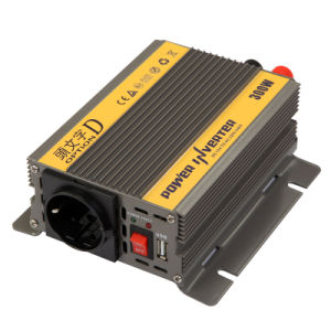 300W DC12V/24V AC220V/110 Modified Sine Wave Power Inverter (TUV) pictures & photos