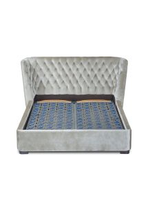Adult Bed Italian Design Nubuck Leather Fabric Bed pictures & photos