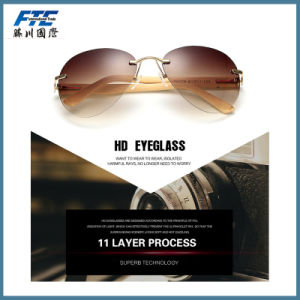 High Quality Sunglasses with Wood Fram pictures & photos