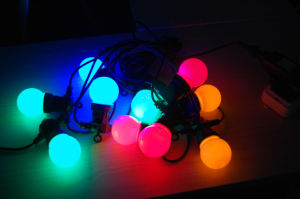Decoration Color Light Chain with LED pictures & photos