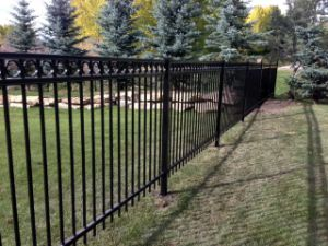 Simple Decorative High Quality Iron Fence pictures & photos
