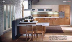 Double Pvc Foil Kitchen Cabintry pictures & photos