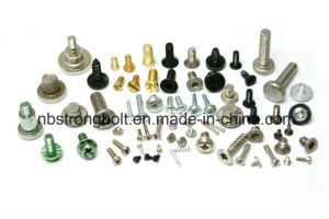 Slotted Cheese Head Screws, Machine Screws DIN 84 pictures & photos