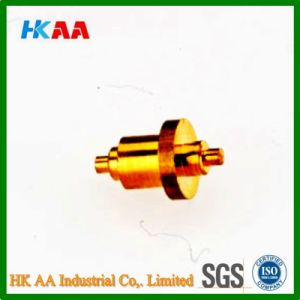 CNC Swiss Machining Brass Nozzle pictures & photos