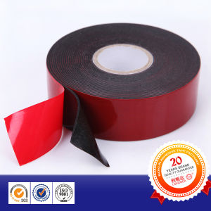 Double Side PE Foam Glazing Tape for Doors and Windows pictures & photos