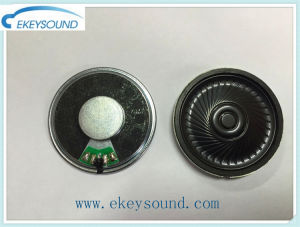 Dia 40mm Mylar Speaker with Metal Frame pictures & photos