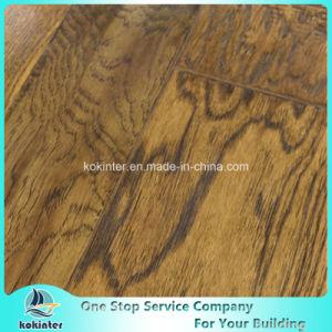 Kok Hardwood Flooring Laminate Random Width 07 pictures & photos