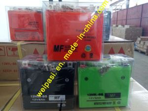 YTZ7 12V6AH High Starting Performance AGM Sealed maintenance free lead acid motorcycle battery pictures & photos