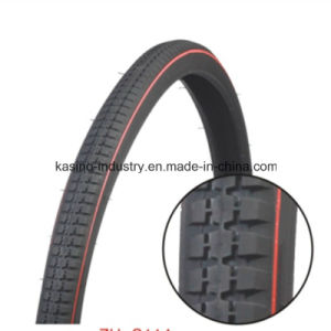 Manufacturing High Quality Bicycle Tyre/Tire 24X1 3/8, 26X1 3/8, 26X1 1/2, 28X1 1/2 pictures & photos