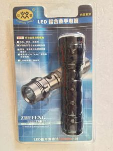 Fashion Aluminium Alloy LED Flashlight pictures & photos