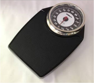 Mechanica Bathroom Scale with Chrome Plate (LB819) pictures & photos
