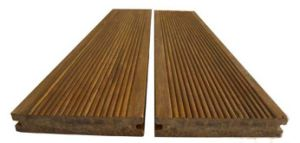 Outdoor Bamboo Floor Tiles Natural Color Strand Woven Bamboo Flooring for Outdoor Use pictures & photos